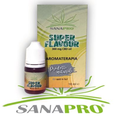SANAPRO SUPERFLAVOUR 10 ML CBD 300