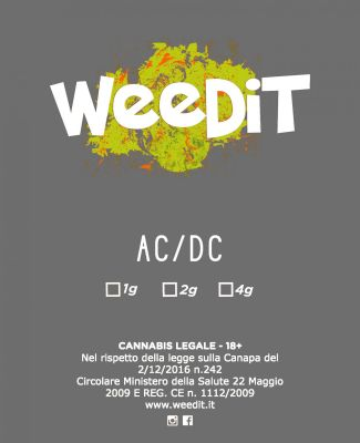 WEEDIT AC / DC OUTDOOR –  (2 GR)