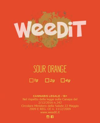 WEEDIT SOUR ORANGE INDOOR –  (2 GR)