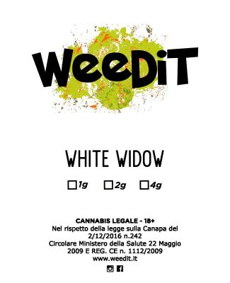WEEDIT WHITE WIDOW OUTDOOR –  (2 GR)